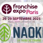 NAOKI sera présent au salon Franchise Expo !