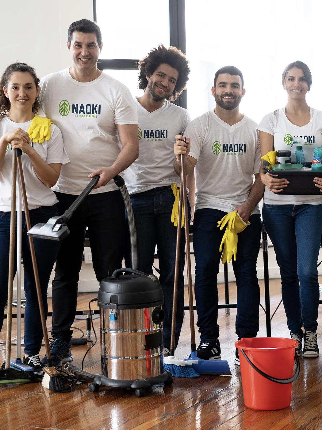 Société de nettoyage NAOKI propreté