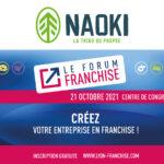 NAOKI sera présent au forum franchise 2021 à Lyon